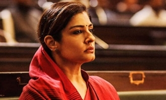 'KGF 2': Raveena Tandon's look unveiled on birthday