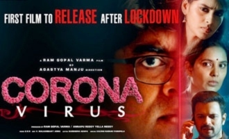 RGV's 'Coronavirus' to be the 'first film' to release in theatres