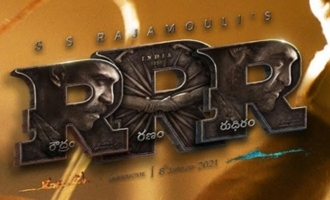'RRR' makers sorry about missing it!