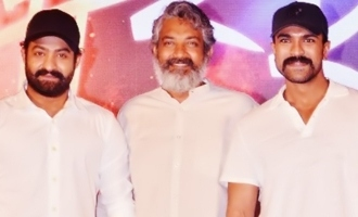 'RRR': Ultimate good news for fans of NTR, Charan, Rajamouli