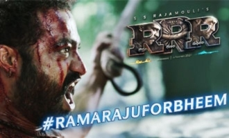 Bheem teaser: Jr NTR, SS Rajamouli give an unmatched 'RRR' treat