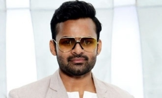 Sai Dharam Tej unveils poster of 'Thank You Brother'