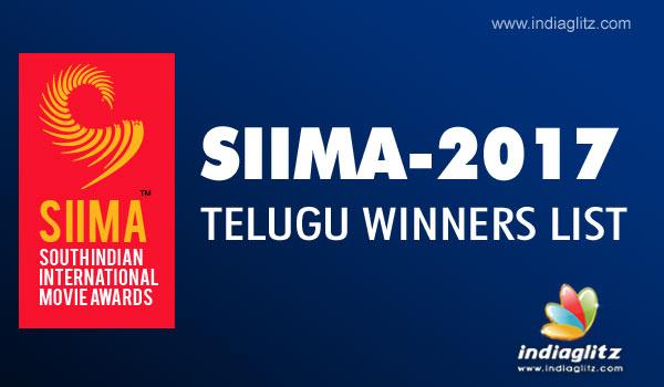 SIIMA Awards 2017 - Telugu Winners List - Telugu News