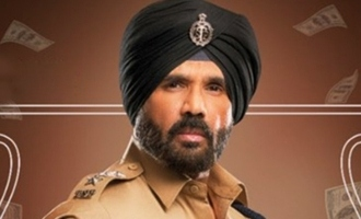 Suneil Shetty's look from 'Mosagallu' drops