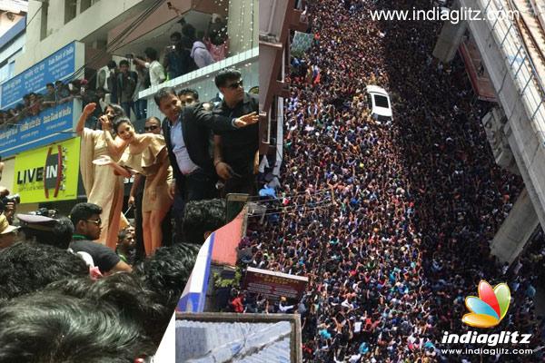 Sunny Leone's 'sea of fans' will shock you - Telugu News