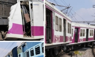 Two trains collide at Kacheguda station, 10 injured