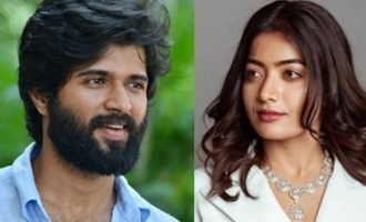 Vijay Deverakonda hits back after question on Rashmika's break-up