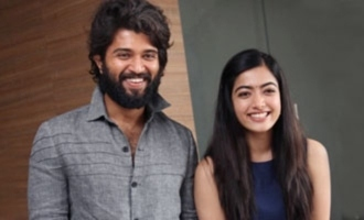 Vijay Deverakonda, Rashmika shoot for an ad