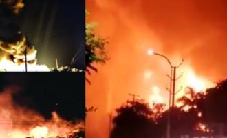 Major fire accident in Vizag pharma plant kills one