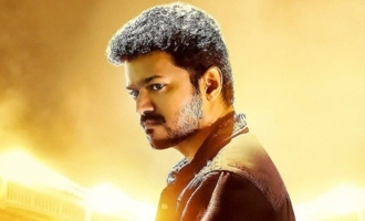 Whistle-worthy Vijay cutout in Hyderabad
