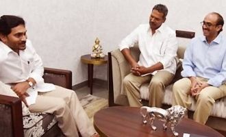 Tollywood personalities call on YS Jagan